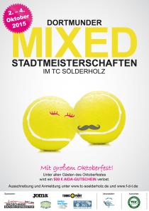 Dortmunder Mixed-Stadtmeisterschaften 2015